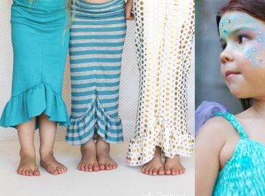 Pustni Kostum - Morska deklica