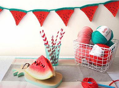 Kvačkane dekorativne lubenice