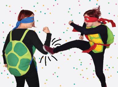 Pustni kostum - Nindža želva