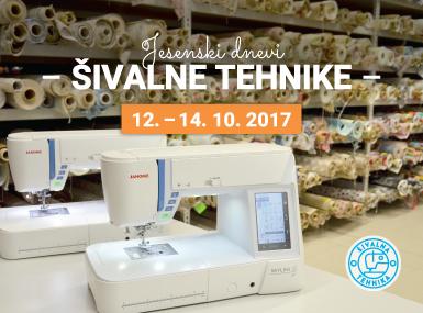 Jesenski dnevi šivalne tehnike 2017