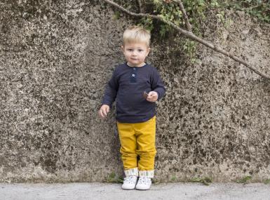 Šivanje otroških hlač