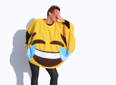 Pustni kostum: emoji