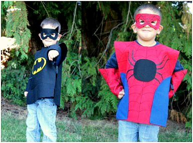 Pustni kostum: super heroj