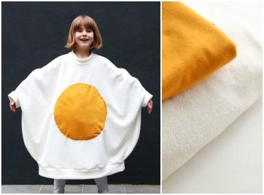 Pustni kostum - Jajce na oko