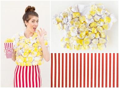 Pustni kostum - Popcorn / pokovka