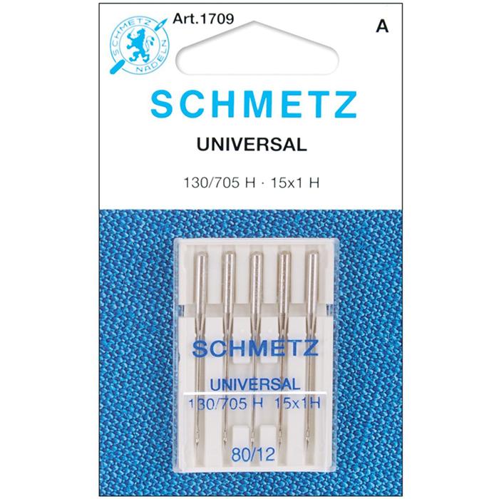 Machine needles, universal 80, 13416