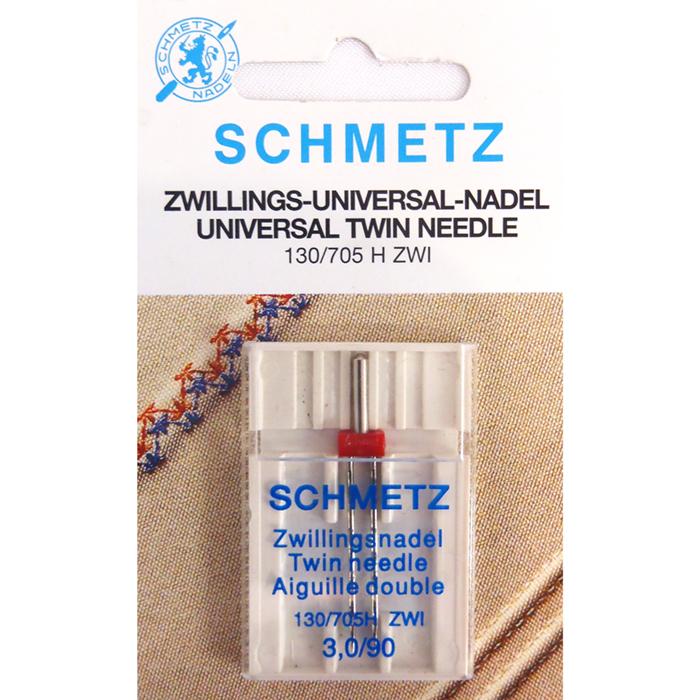 Strojne igle Schmetz, dvojna 3,0/90, 13424