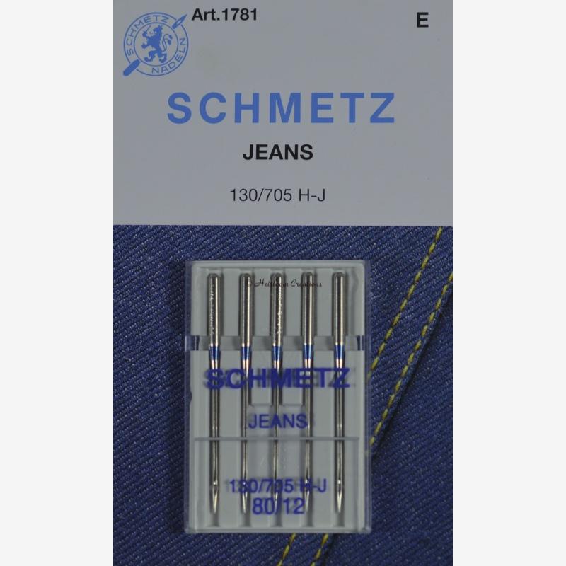 Strojne igle Schmetz, jeans 80, 13426