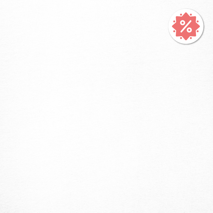 Jersey, bombaž, 13335-1, bela