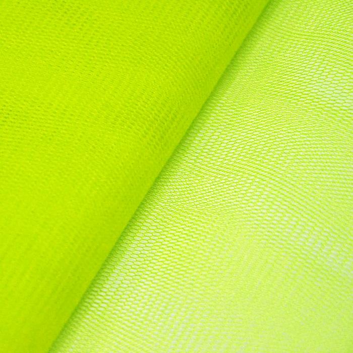 Tüll, klassisch, 13380-14, fluoreszierend gelb