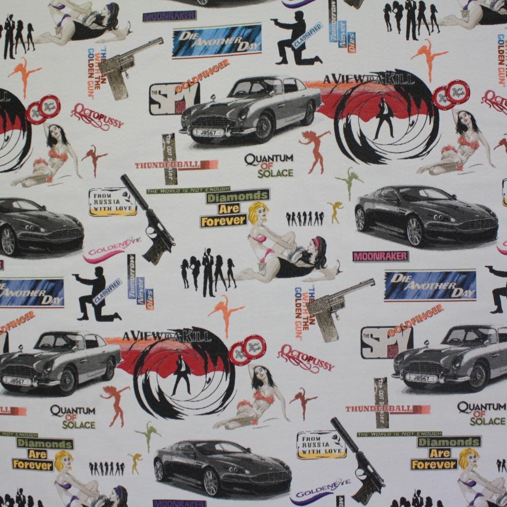 Deco jacquard, movie, Bond, 13847-01