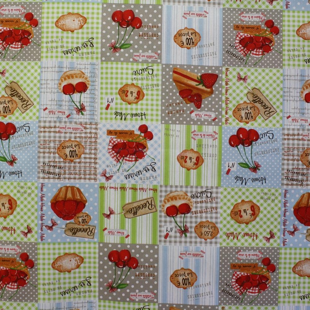 Deco, print, desserts, 13784