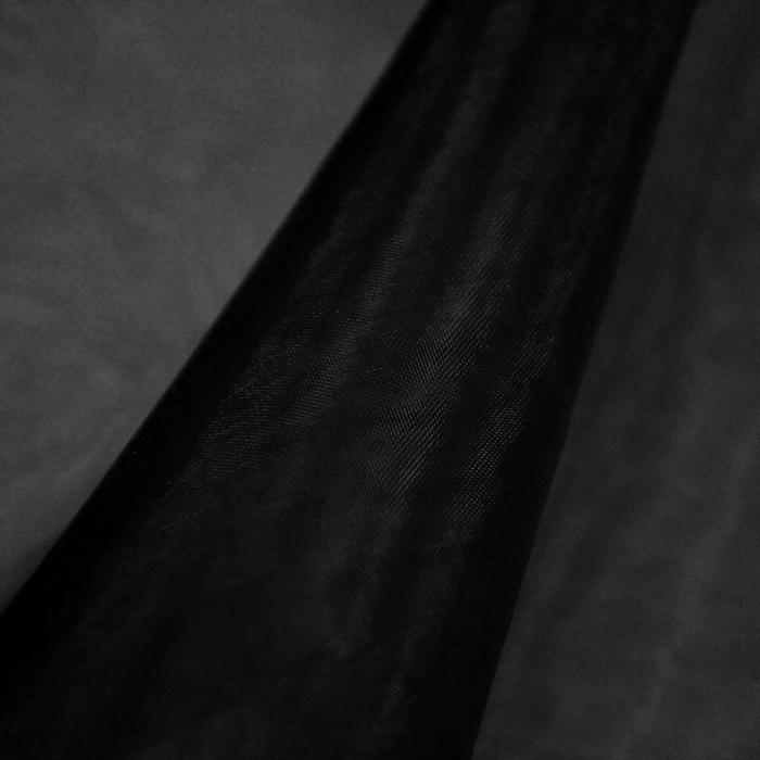Organza, Polyester, 11_13903-11, schwarz
