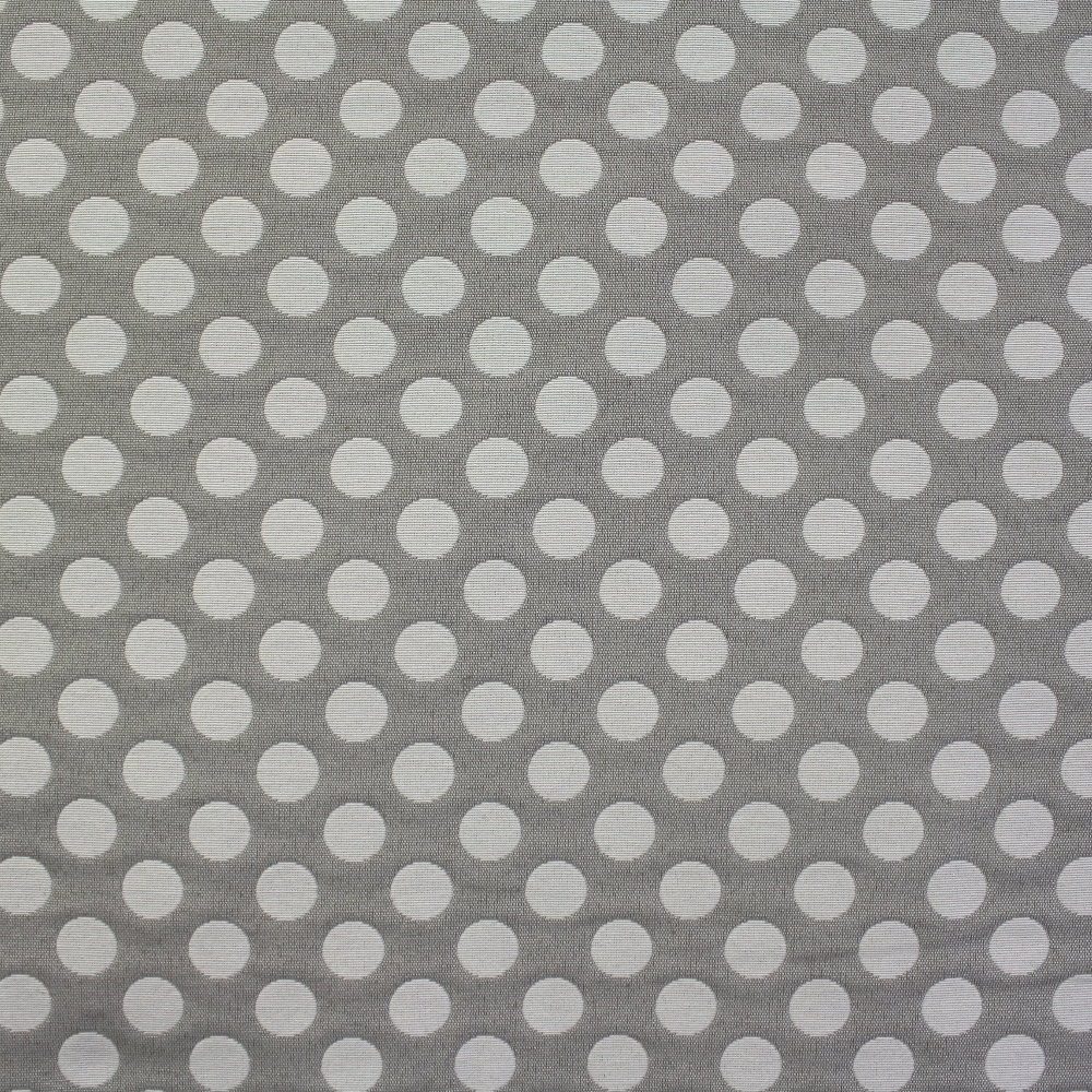 Deco jacquard, big dots, light beige, 13181-9123