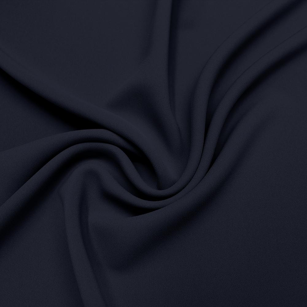Tkanina za kostime 13459-5 temno modra
