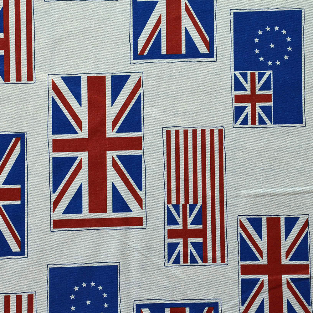 Cotton, prints, flags, 14185-19