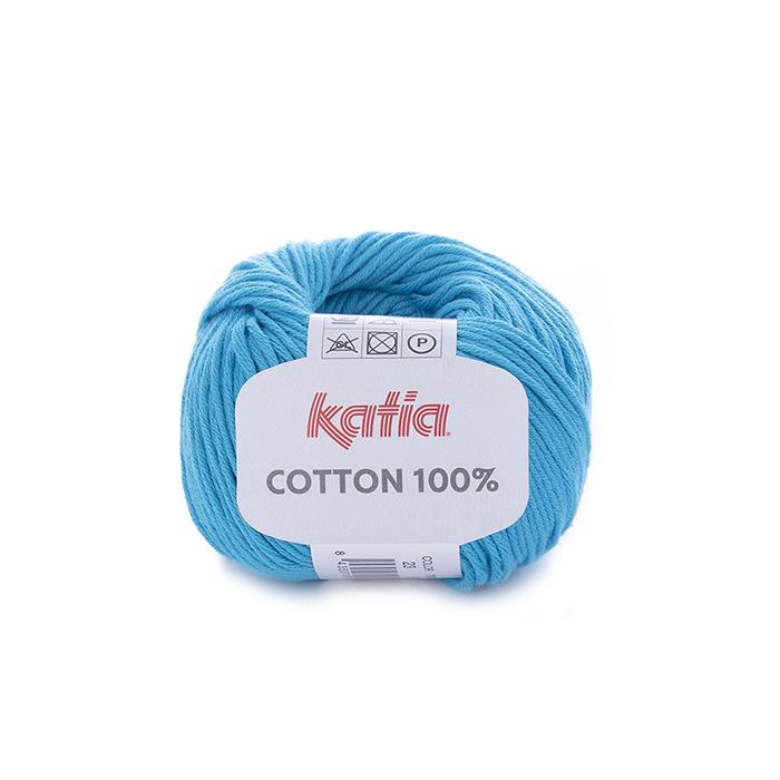 Preja, Cotton 100%, 14733-23, turkizna