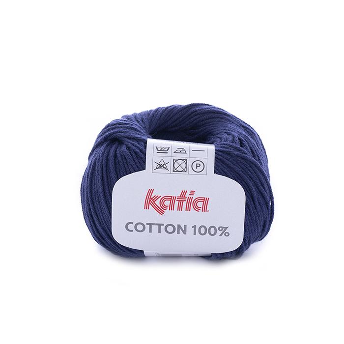 Pređa, pamuk, tamno plava, 14733-5