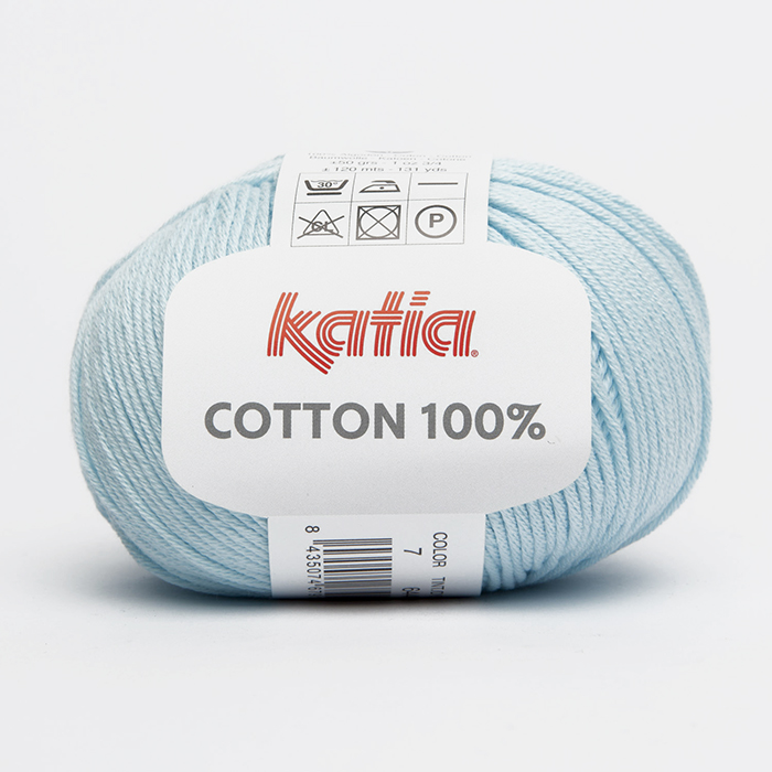 Yarn, 100% Cotton, 14733-7, blue