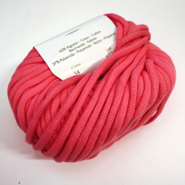 Preja, bombaž, poliamid, roza, 14736-54