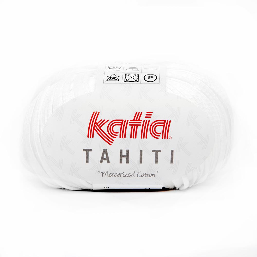 Preja, Tahiti, bombaž, 14737-1, bela
