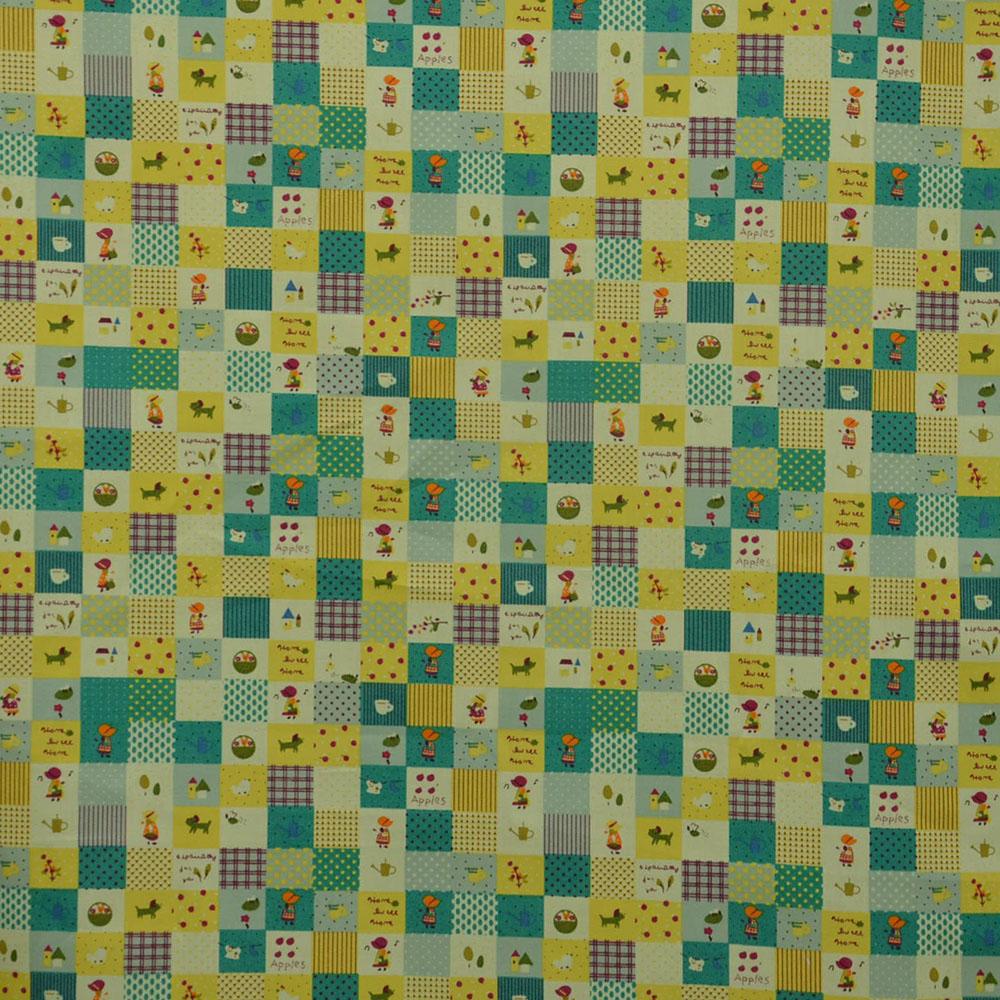 Cotton, poplin, children, 14807-1