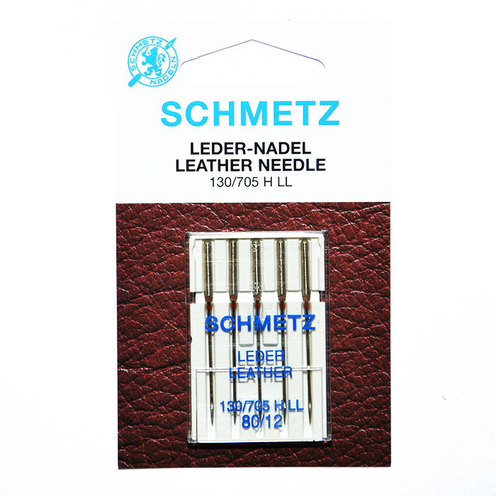 Machine needles, leather  80, 13422