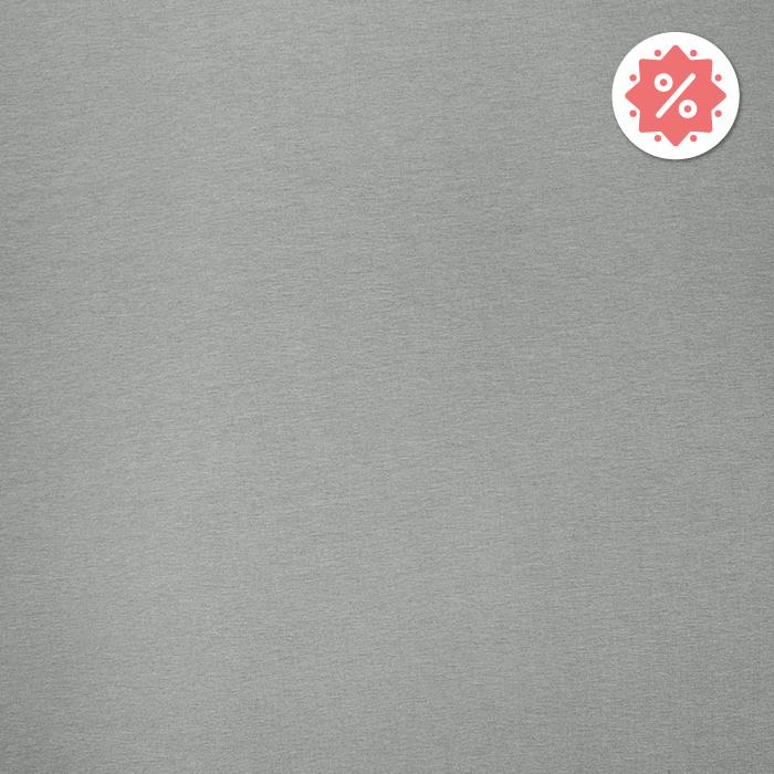 Jersey, bombaž, 13335-20, svetlo siva