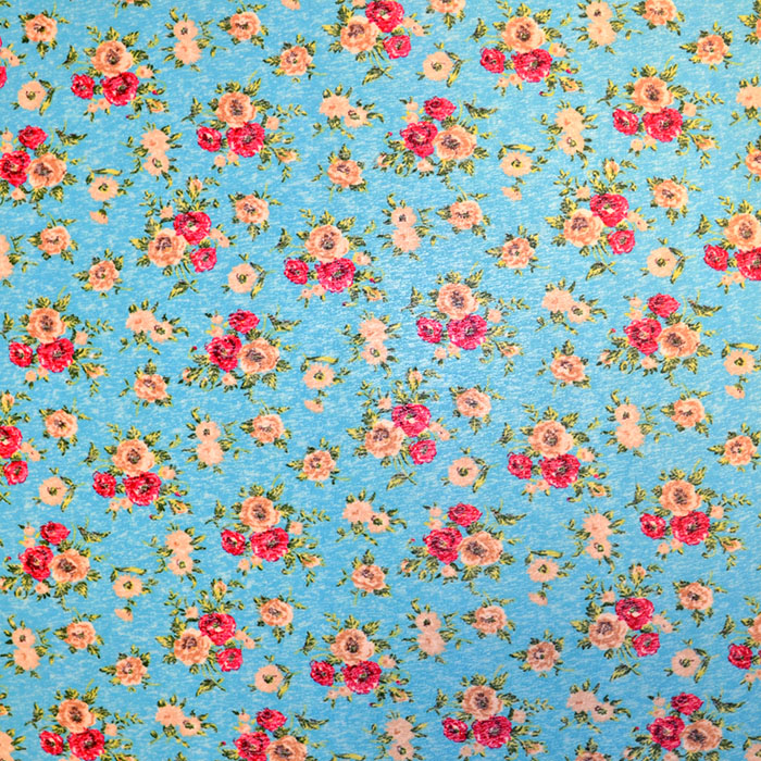 Wirkware, Polyester, 2649-1, floral