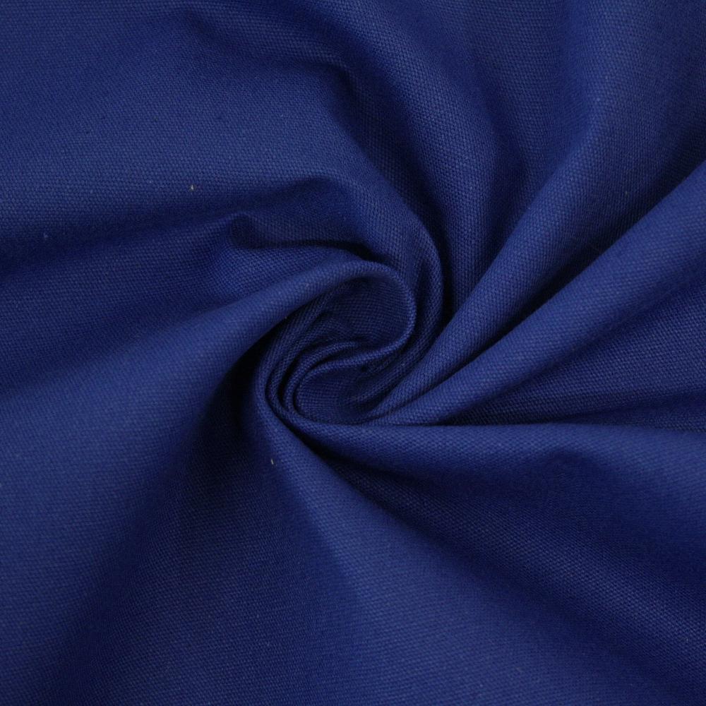 Bombaž, keper, 2650-53, modra