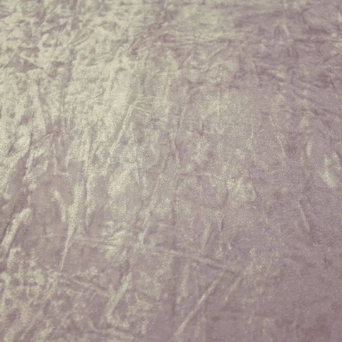 Plush, polyester, wrinkled, 3096-4, grey lila