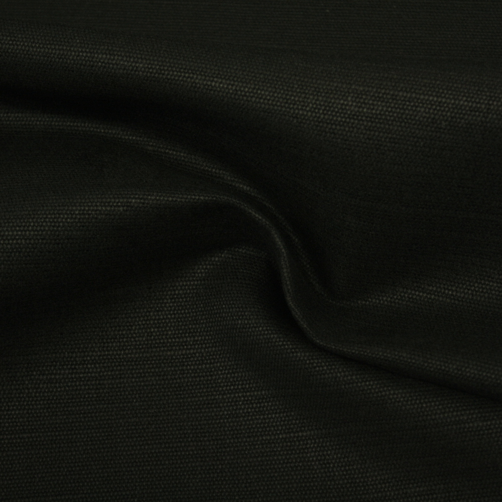 Fabric, cotton, jute, 2650-32, black