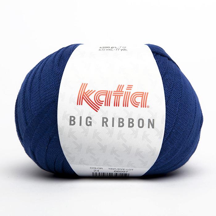 Garn, Big ribbon, 14738-24, blau