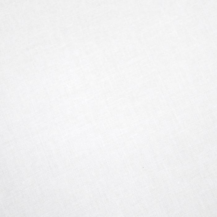 Bombaž, poplin, elastan, 13596-01, bela