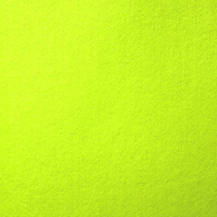 Filc 1,5mm, poliester, 13471-901, neon rumena