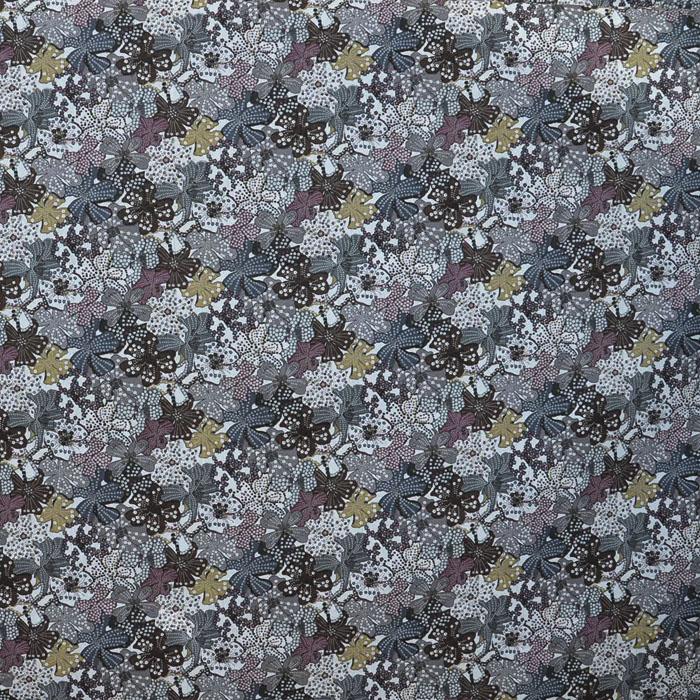 Baumwolle, Popeline, floral, 13163-2
