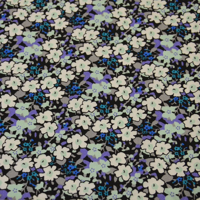 Baumwolle, Popeline, floral, 13172-3