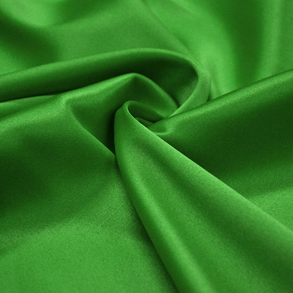 Saten, bombaž, poliester, 12_10589, zelena