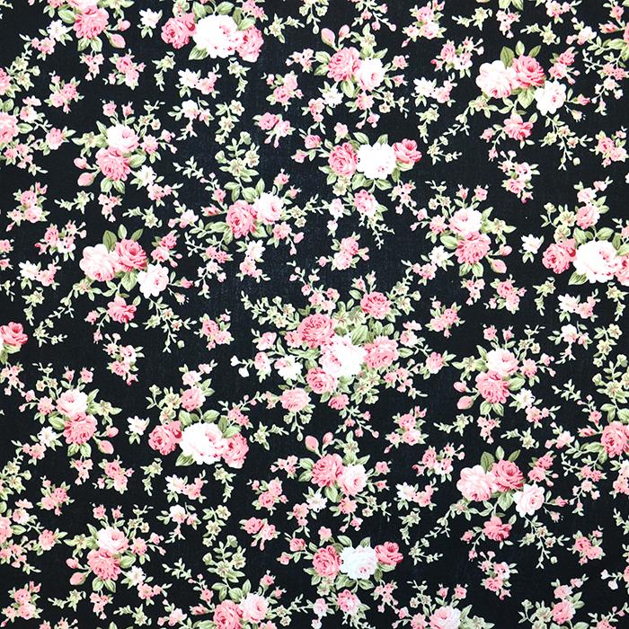 Bombaž, poplin, cvetlični, 10500