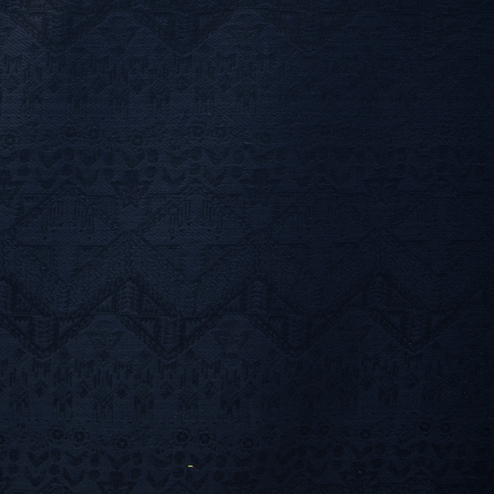 Jacquard, geometric, 14893, dark blue