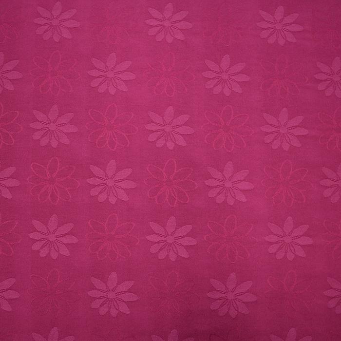 Deco jacquard, flowers, 11942, pink