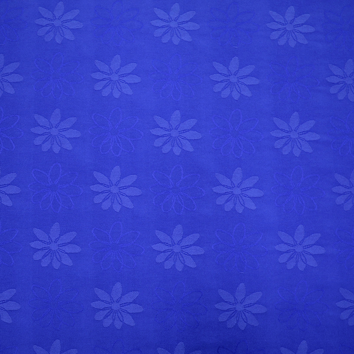 Deco jacquard, flowers, 11943, blue