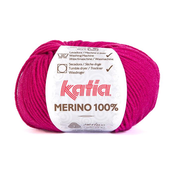Vuna, Merino, 15034-16, ružičasta