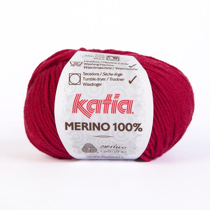 Volna, Merino, 15034-24, rdeča