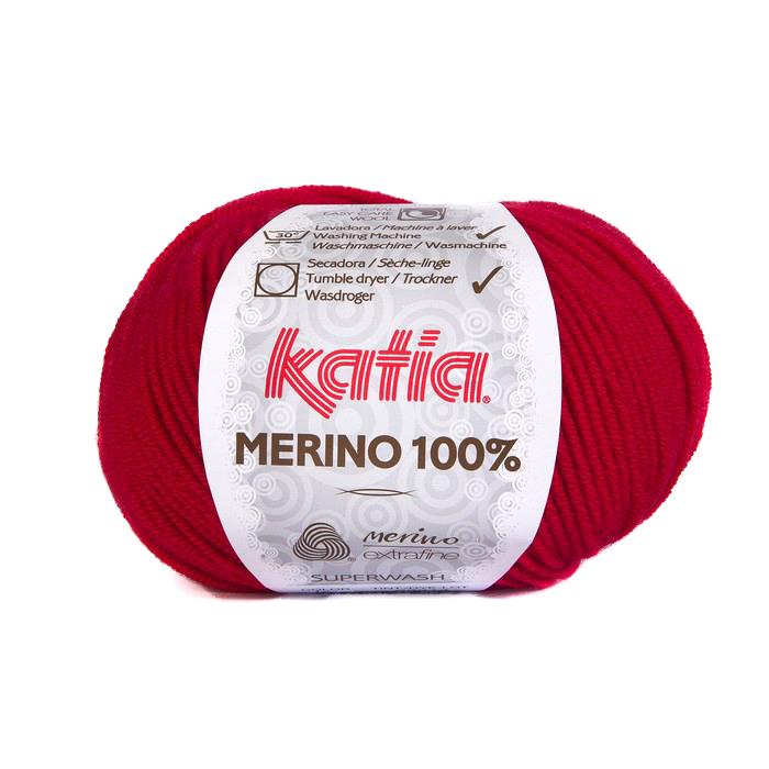 Volna, Merino, 15034-4, rdeča