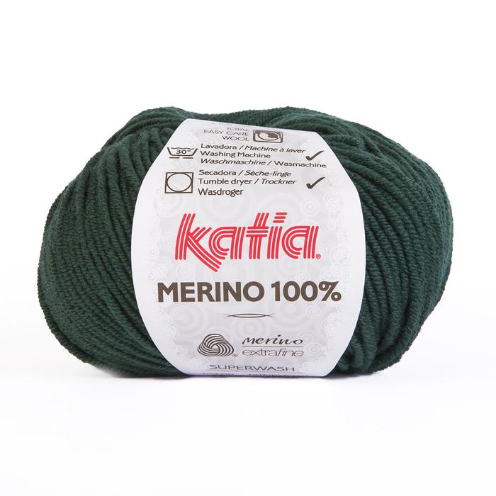 Volna, Merino, 15034-48, temno zelena