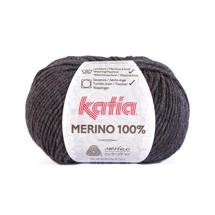 Vuna, Merino, 15034-503, tamnosiva