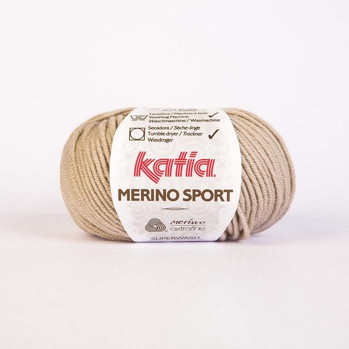 Wool, Merino sport, 15038-10, beige
