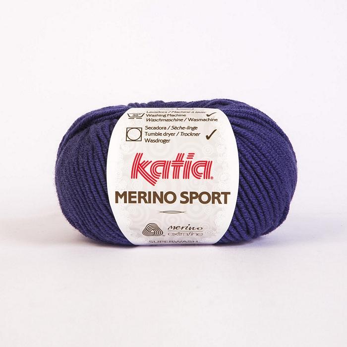 Volna, Merino Sport, 15038-27, modro vijola