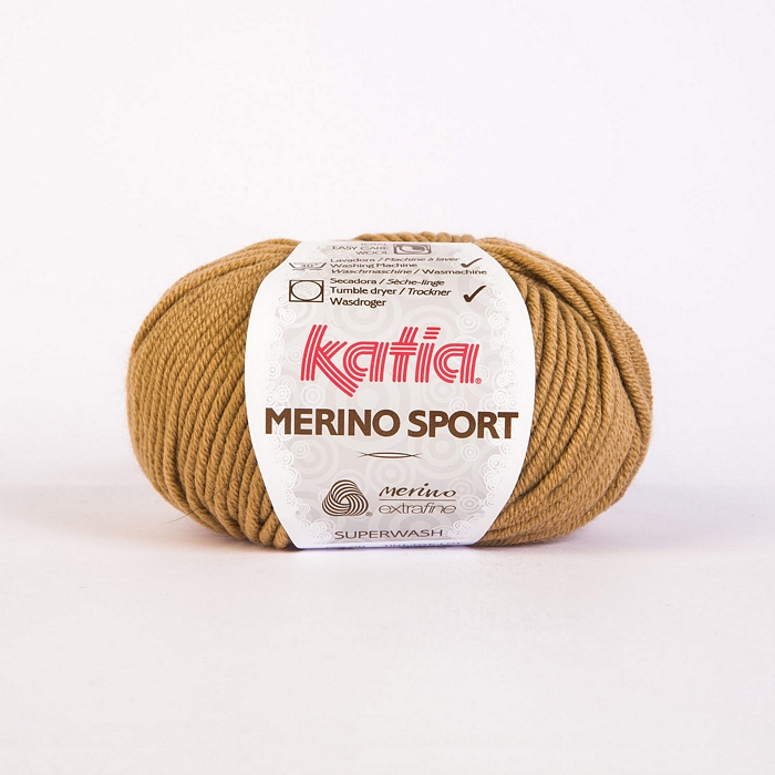 Vuna, Merino Sport, 15038-32, narančasto-smeđa